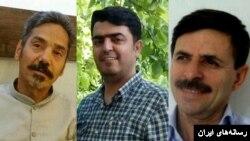 محمود بهشتی و اسماعیل عبدی فعال صنفی معلمان و عبدالفتاح سلطانی وکیل دادگستری که در اوین زندانی هستند