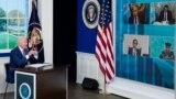 Presidente americano, Joe Biden, participa na cimeira virutal sobre Covid-19, 22 de Setembro de 2021