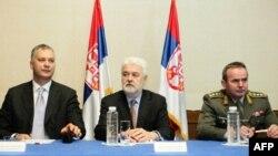 Premijer Srbije Mirko Cvetković tokom predavanja o strategiji održivog razvoja