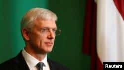 Премьер-министр Латвии Кришьяниш Кариньш
