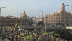 阿富汗爆發反美抗議活動