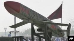 군사행진에 등장한 파키스탄의 크루즈 미사일 (자료사진)