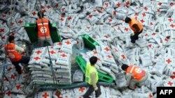 Hàng viện trợ cho người Bắc Triều Tiên