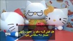 هلو کیتی گربه سفید و محبوب ژاپنی امسال ۴۵ ساله می شود