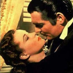 """Vivian Leigh and Clark Gable from """"Gone With the Wind"""""""