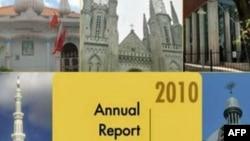 Phúc trình thường niên về tự do tôn giáo trên thế giới của Bộ Ngoại Giao Hoa Kỳ nêu lên những quan tâm về các nước Miến Điện, Trung Quốc, Eritrea, Iran, Bắc Triều Tiên, Arập Saudi, Sudan và Uzbekistan