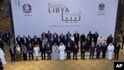 리비아 연락그룹 회의
