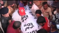 2013-05-19 美國之音視頻新聞: 巴基斯坦女性政界人物在卡拉奇中槍身亡