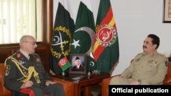 جنرل کریمی کی پاکستانی فوج کے سربراہ سے ملاقات