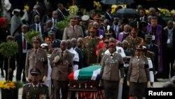 Winnie Madikizela-Mandela ရဲ့ စ်ာပနအခမ္းအနား၊ ဧၿပီ ၁၄၊ ၂၀၁၈။