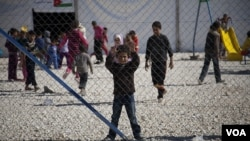 Syrian Refugees Seek Shelter in Jordan