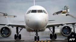 Airbus A320 à l'aéroport de Roissy-Charles-De-Gaulle.