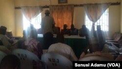 Taron manema labarai na kungiar manyan ma'aikatan jami'a reshen jihar Adamawa