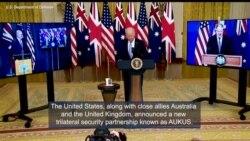 US-UK-Australia Form New Security Partnership