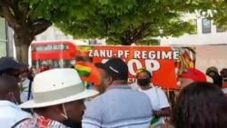 Zimbabweans Demonstrate in United Kingdom