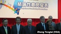 国际独立人权专家学者团意见发表会 (美国之音张永泰拍摄)