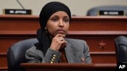 Ilhan Omar, anggota DPR AS dari faksi Demokrat