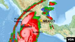 Las autoridades mexicanas advierten que el huracán Patricia podría ser el más fuerte desde 1949.