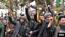 Афганські сили, які виступають проти угруповання Талібан