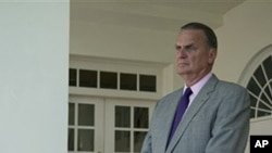 Former US national security advisor and retired Marine Corps General James Jones (file photo)