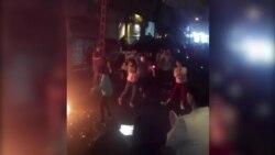تصاویری از رقص و پایکوبی در برخی از شهرهای ایران در مراسم چهارشنبهسوری