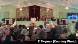 At the Maranatha Baptist Church in Plains, Ga., former President Jimmy Carter teaches a religious lesson twice a month.