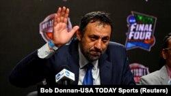 Vlade Divac na konferenciji za novinare povodom objavljivanja novih članova Kuće slavnih (Foto: Reuters/Bob Donnan-USA TODAY Sports)