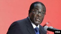 Presiden Zimbabwe Robert Mugabe