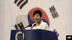 韩国总统朴槿惠 (资料照片)