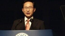 South Korean President Lee Myung-bak, Aug. 15, 2012.