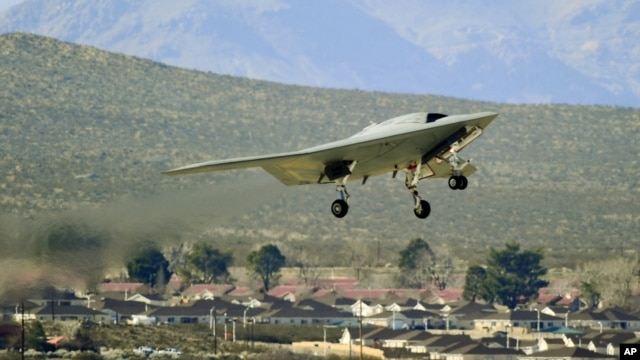 China US Rivalry Drones