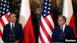 Predsjednici Obama i Komorowski
