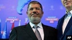 Tổng thống bị lật đổ Mohammed Morsi.