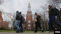 Lebih dari 1,4 juta mahasiswa internasional belajar di kampus-kampus di seluruh Amerika (foto: ilustrasi).