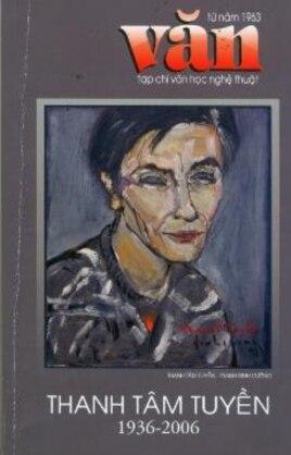 Bià Tạp chí Văn tưởng niệm Thanh Tâm Tuyền, California, 2006
