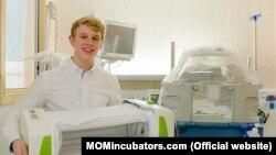 James Roberts with MOM Incubator