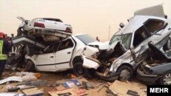 Car accidents in Iran