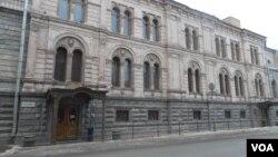 Здание Европейского университета на Гагаринской 3