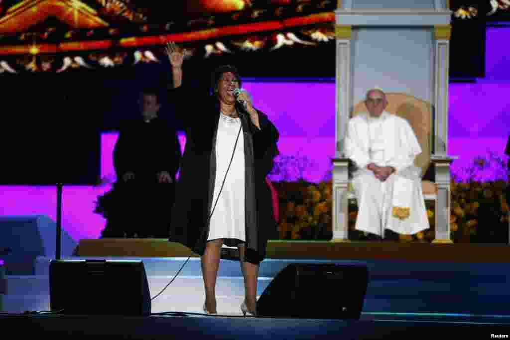 Aretha Franklin, Pennsylvania 2015