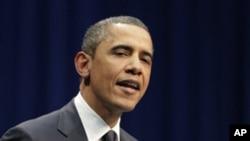 奥巴马总统周三在亚利桑那州发表讲话