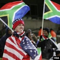 Pendukung Amerika siap mendukung tim mereka di Afrika Selatan.
