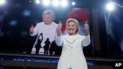希拉里·克林顿2016年7月28日在民主党大会发表接受提名演说