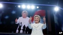 Hillary Clinton umukandida w'Abademokarate