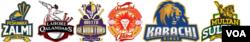 پی ایس ایل 2018 میں شامل ٹیمیں