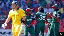 کینیا کو شکست: آسٹریلیا کوارٹر فائنل میں