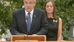 Americans Hold Somber Observances of September 11 Attacks