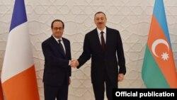 İlham Əliyev və Fransua Oland