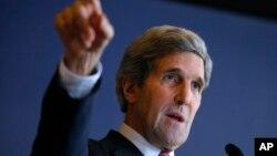 El secretario de Estado, John Kerry, no cree que haya alternativa a una salida negociada a la guerra de Siria.