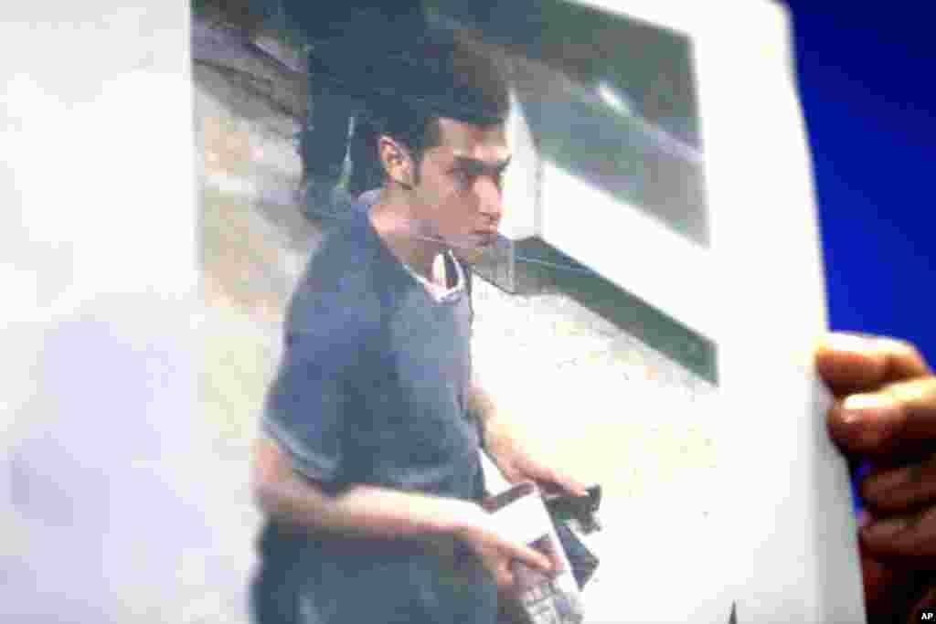 Hình ảnh của Pouri Nourmohammadi, 19 tuổi, một trong hai người đàn ông Iran lên chuyến bay mất tích sử dụng hộ chiếu châu Âu bị đánh cắp.