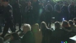 2011-10-17 粵語新聞: 數百人在美國佔領華爾街運動中被捕